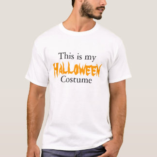 This is my Halloween costume T-Shirt