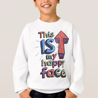 This *is* my happy face sweatshirt