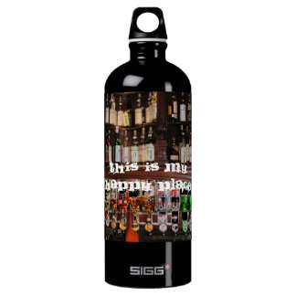 This is my Happy Place SIGG Traveller 1.0L Water Bottle