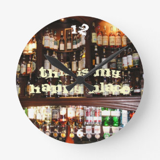 This is my Happy Place Wallclocks