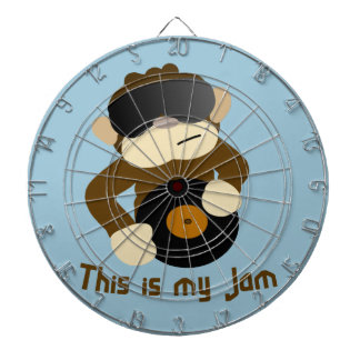 This is my jam, Monkey Dart Board