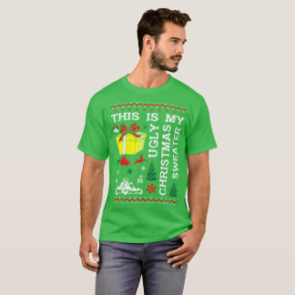 This Is My Karting Ugly Christmas Sweater Tshirt