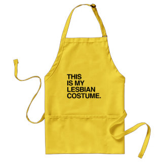 THIS IS MY LESBIAN COSTUME-.png Standard Apron