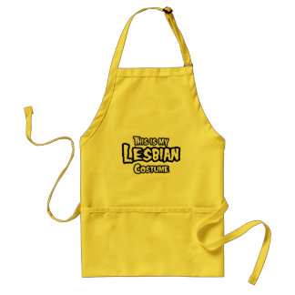THIS IS MY LESBIAN COSTUME.png Standard Apron
