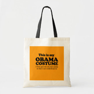 THIS IS MY OBAMA COSTUME - Halloween - png Tote Bags