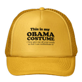This is my Obama Costume Trucker Hats