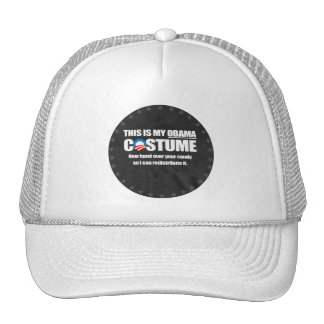 This is my Obama Costume white Trucker Hat