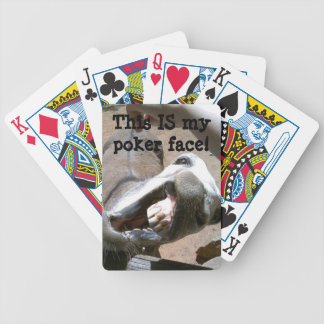 This IS my poker face! Playing Cards