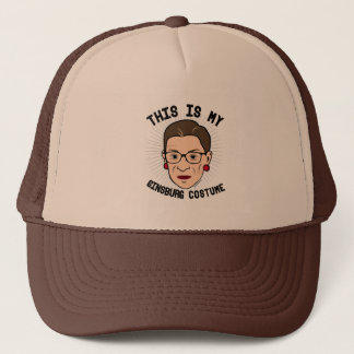 This is my Ruth Bader Ginsburg Costume -- Election Trucker Hat