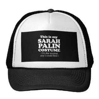 THIS IS MY SARAH PALIN COSTUME TRUCKER HATS