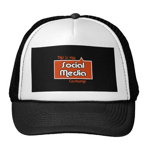 THIS IS MY SOCIAL MEDIA COSTUME MESH HAT