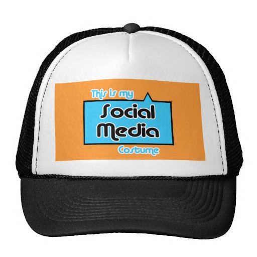 THIS IS MY SOCIAL MEDIA COSTUME HAT