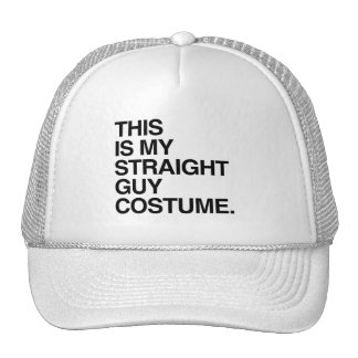 THIS IS MY STRAIGHT GUY COSTUME HATS