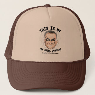 This is my Tim Kaine Costume - I couldn't find any Trucker Hat