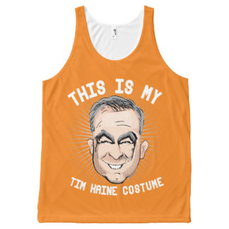 This is my Tim Kaine Costume - Political Halloween All-Over Print Singlet