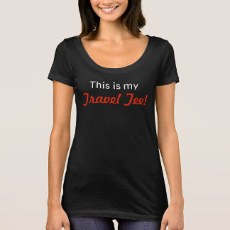 This is my Travel Tee S/S Shirt (Black)