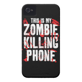 This is My Zombie killing Phone keep calm and kill iPhone 4 Case-Mate Cases
