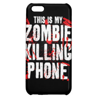 This is my zombie killing phone undead walkers wal iPhone 5C covers