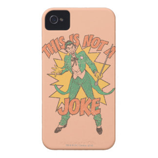 This Is Not A Joke iPhone 4 Covers