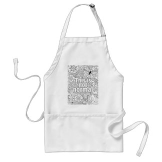 this is not normal standard apron