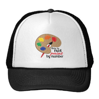 this is not paint by number mesh hats