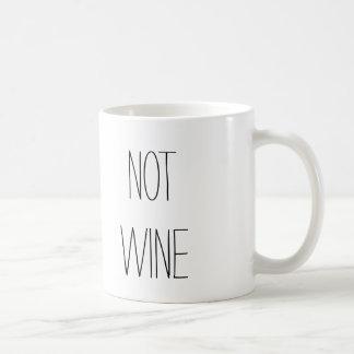 THIS IS NOT WINE COFFEE MUG