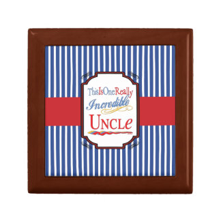 This Is One Really Incredible Uncle Gift Gift Box