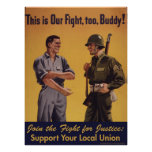 This is Our Fight, too, Buddy! Poster