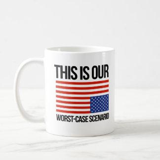 This is our worst case scenario - Anti-Trump - Coffee Mug
