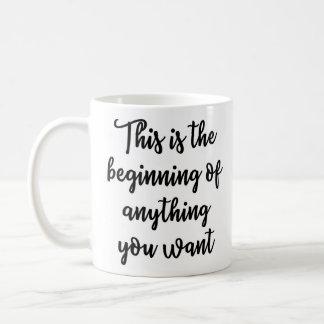 This is the beginning Mug