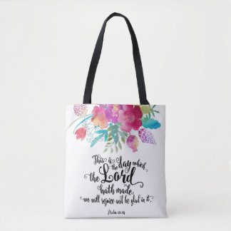 This Is The Day All Over Print Tote Bag