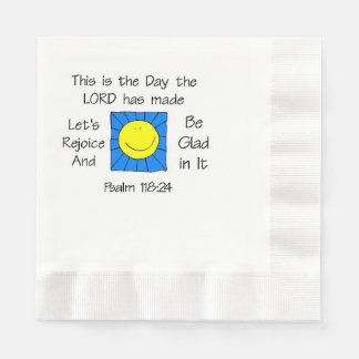 This is the Day Sun Disposable Napkins