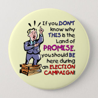 This is the Land of Promise 10 Cm Round Badge