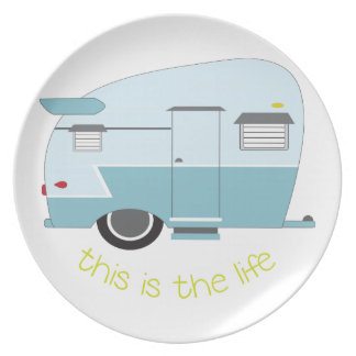 This Is The Life Dinner Plates