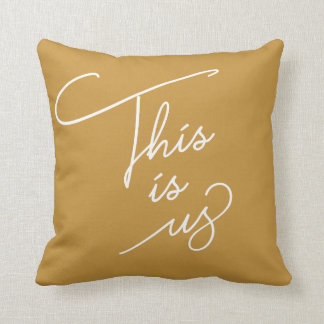 This is Us - Any Colour Cushion
