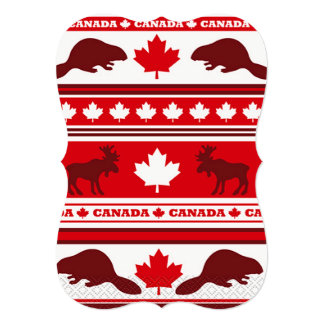 This Is Us Canada Day Party Invitation