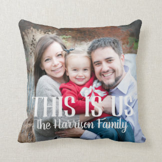 This is Us Family Photo Pillow