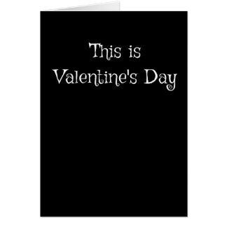 This is Valentine's Day Card