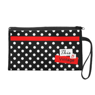 This Is Vintage Wristlet Clutch