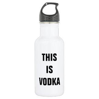 This is vodka water bottle 532 ml water bottle
