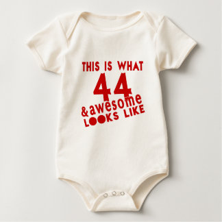 This Is What 44 & Awesome Look s Like Baby Bodysuit