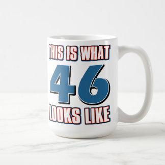 This is what 46 years looks like coffee mug