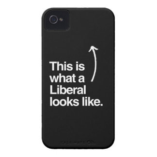 THIS IS WHAT A LIBERAL LOOKS LIKE.png Blackberry Case