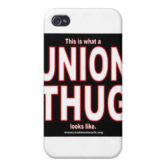 This is what a UNION THUG looks like iPhone 4/4S Case