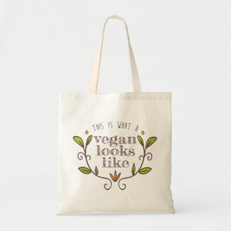 This Is What A Vegan Looks Like i Tote Bag