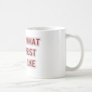 This is what an Atheist looks like Basic White Mug