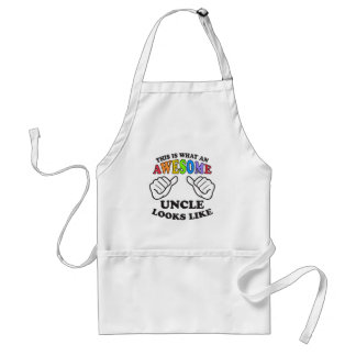 This Is What An Awesome Gay Uncle Looks Like Standard Apron