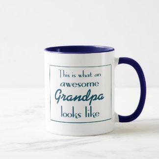 This Is What An Awesome Grandpa Looks Like Mug