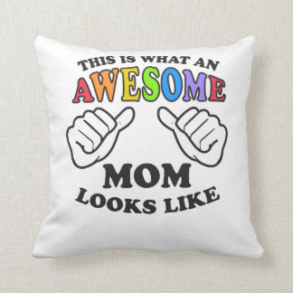 This Is What An Awesome Lesbian Mom Looks Like Cushion