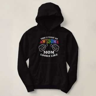 This Is What An Awesome Lesbian Mom Looks Like Hoodie